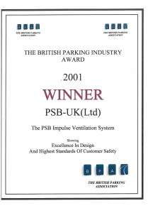 PSB Win British Parking Industry Award