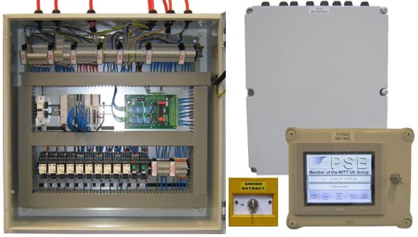 PSB Control Panels for Project in the Heart of Leeds